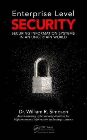 Enterprise Level Security de William R. Simpson