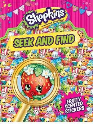 Shopkins Seek and Find de Little Bee Books