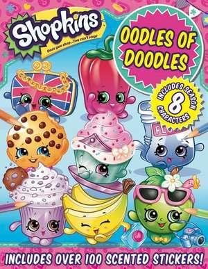Shopkins Oodles of Doodles de Sizzle Press