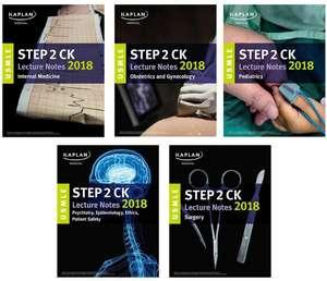 USMLE Step 2 Ck Lecture Notes 2018: 5-Book Set de Kaplan Medical