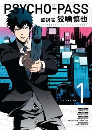 Psycho-pass: Inspector Shinya Kogami Volume 1 de Midori Gotu