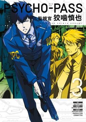Psycho-pass: Inspector Shinya Kogami Volume 3