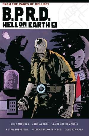 B.p.r.d. Hell On Earth Volume 5 de Mike Mignola
