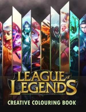 League of Legends Creative Colouring de MR James Jackson