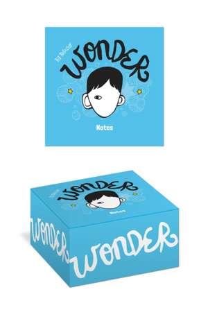 Wonder Notes de R. J. Palacio