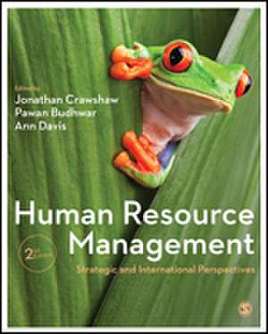 Human Resource Management: Strategic and International Perspectives de Jonathan Crawshaw