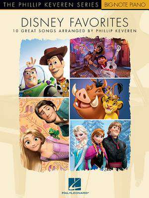 Disney Favorites: The Phillip Keveren Series de  Hal Leonard Corp