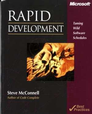 Rapid Development de Steve M. McConnell
