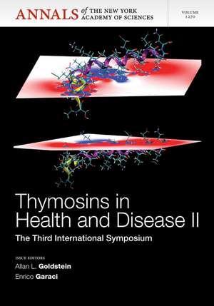 Thymosins in Health and Disease II