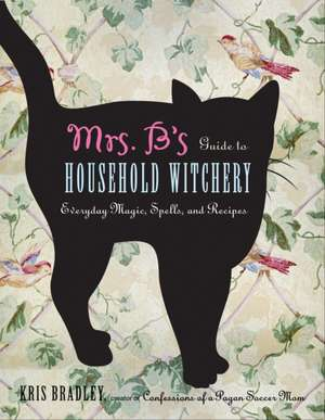 Mrs. B's Guide to Household Witchery:  Everyday Magic, Spells, and Recipes de Kris Bradley
