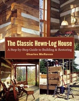 The Classic Hewn-Log House imagine
