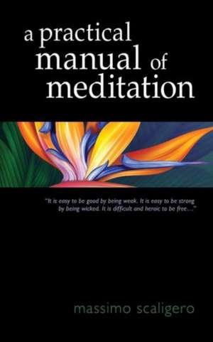 A Practical Manual of Meditation de Massimo Scaligero