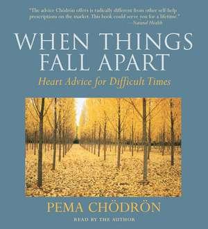 When Things Fall Apart:  Heart Advice for Difficult Times de Pema Chodron