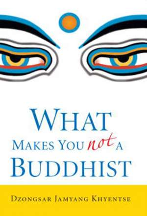 What Makes You Not a Buddhist de Dzongsar Jamyang Khyentse