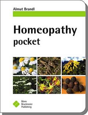Homeopathy Pocket de Almut Brandl