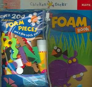 The Foam Book de  Inc. Klutz