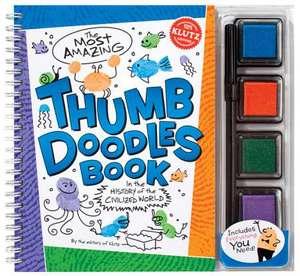 Klutz: Thumb Doodles: 6-8 ani