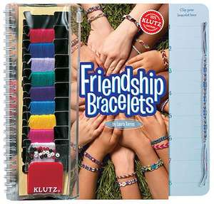 Klutz Friendship Bracelets [With Embroidery Floss & Cool Klutz Clip and Beads]