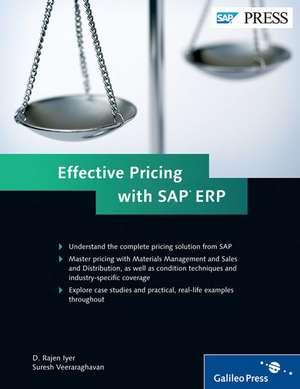 Effective Pricing with SAP ERP de D. Rajen Iyer