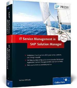 IT Service Management in SAP Solution Manager de Nathan Williams