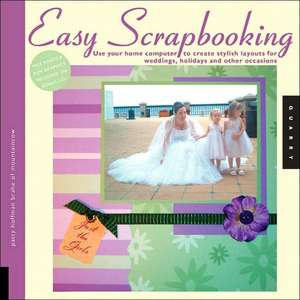 Hoffman-Brahe, P: Easy Scrapbooking de Patty Hoffman-Brahe