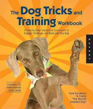 The Dog Tricks and Training Workbook imagine