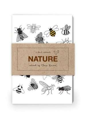 Nature Artwork by Eloise Renouf Journal Collection 1:  Set of Two 64-Page Notebooks de Eloise Renouf