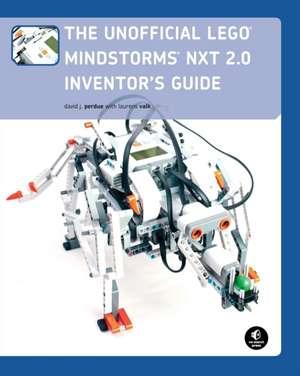 The Unofficial Lego Mindstorms Nxt 2.0 Inventor's Guide de David J. Perdue