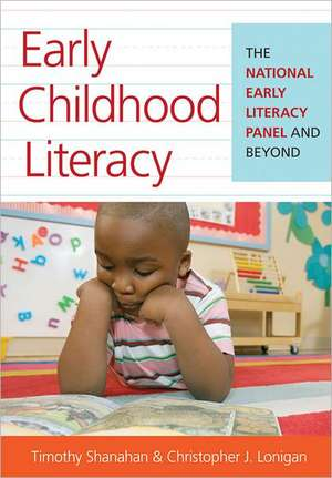 Early Childhood Literacy:  The National Early Literacy Panel and Beyond de David Dickinson