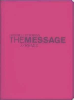 Message Remix 2.0 Bible-MS-Numbered Hypercolor de Eugene H. Peterson