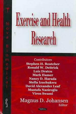 Exercise and Health Research de Magnus D. Johansen