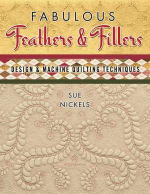 Fabulous Feathers Fillers - Design & Machine Quilt
