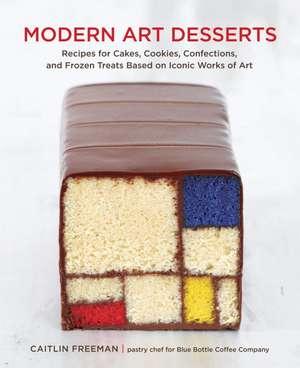 Modern Art Desserts imagine