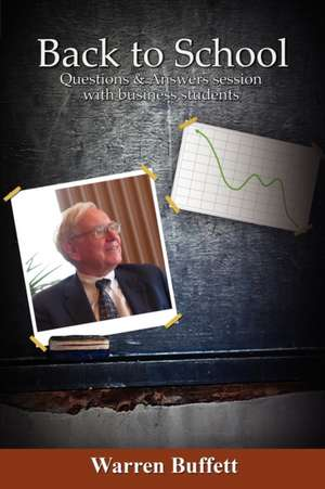 Back to School de Warren Buffett