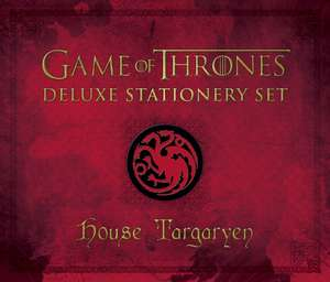 House Targaryen Deluxe Stationery Set