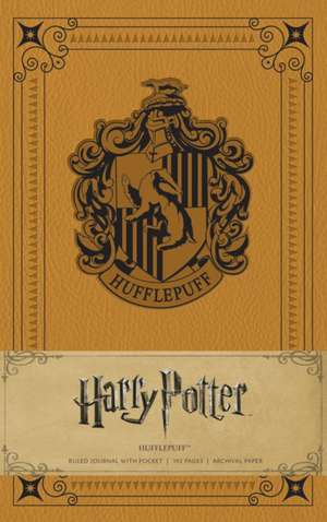 Hufflepuff Hardcover Ruled Journal Harry Potter de  Insight Editions