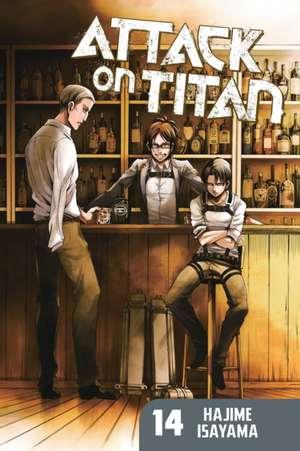Attack On Titan 14 de Hajime Isayama