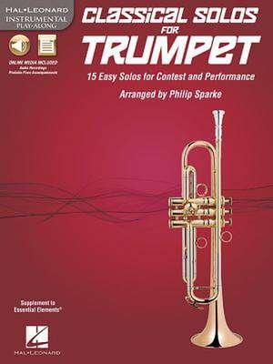 Classical Solos for Trumpet de Hal Leonard Publishing Corporation