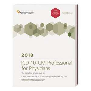 ICD-10-CM Professional for Physicians 2018
