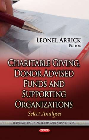 Charitable Giving, Donor Advised Funds & Supporting Organiza imagine