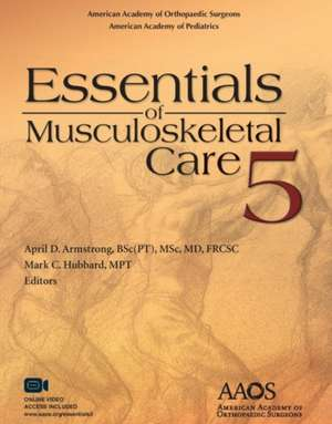Essentials of Musculoskeletal Care 5
