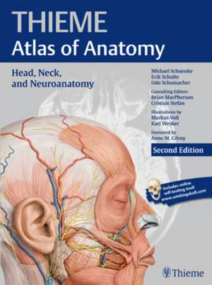 Head, Neck, and Neuroanatomy (THIEME Atlas of Anatomy) de Michael Schuenke