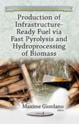 Production of Infrastructure-Ready Fuel via Fast Pyrolysis & Hydroprocessing of Biomass de Maxime Giordano