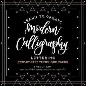 Beautiful Modern Calligraphy Lettering Tin imagine