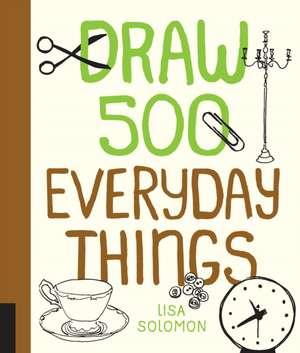 Draw 500 Everyday Things imagine