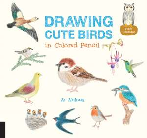 Drawing Cute Birds in Colored Pencil imagine
