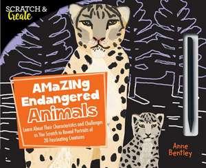 Scratch & Create: Amazing Endangered Animals