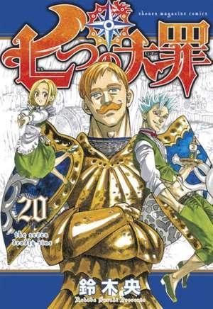 The Seven Deadly Sins 20 de Nakaba Suzuki