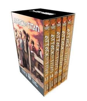 Attack On Titan Season 3 Part 1 Manga Box Set de Hajime Isayama