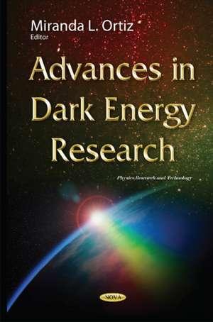Advances in Dark Energy Research imagine